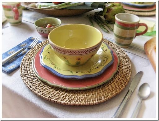 CONFESSIONS OF A PLATE ADDICT Pfaltzgraff Pistoulet French Country Dinnerware & CONFESSIONS OF A PLATE ADDICT: A Sneak Peek...Pfaltzgraff ...