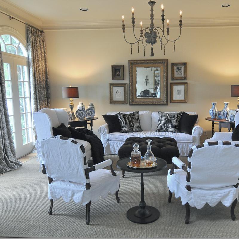 Webb Design:  Family Room, Breakfast Room & Kitchen Redecorated