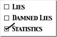 Lies Damn Lies Statistics
