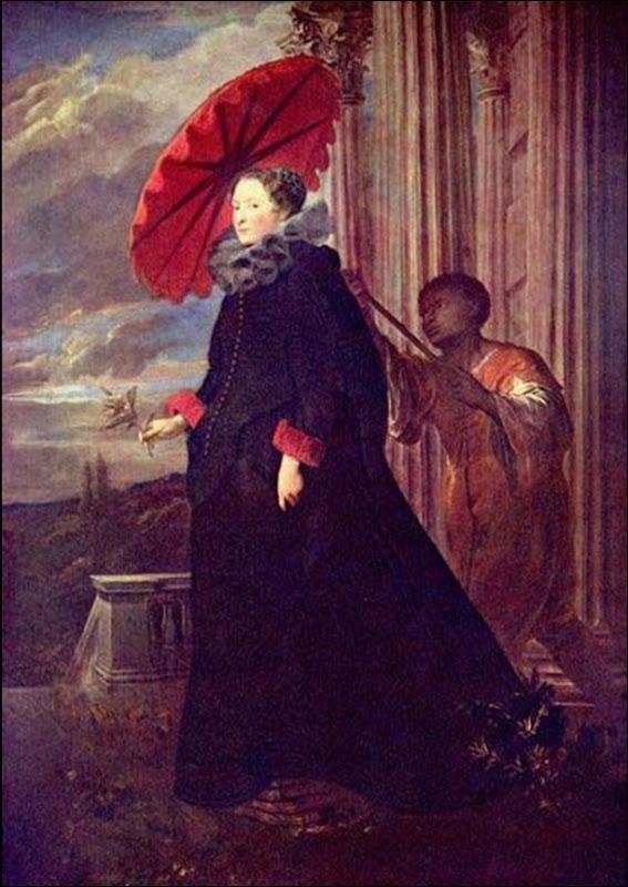Anthony Van Dyck, Elena grimaldi