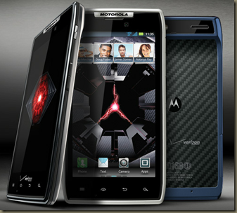 DROID RAZR   Android Smartphone   Ultra Thin   KEVLAR Strong   Now in Blue   Overview   Motorola Mobility  Inc. USA
