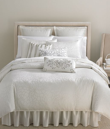 Martha Stewart Collection Bedding, Shimmer Collection, from $85, macys.com.