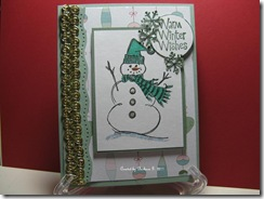 Christmas Snowman 001