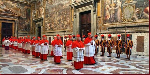Urutan Cara Pemilihan Paus Di Vatican Roma