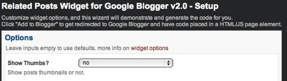 Related Posts Widget for Google Blogger v2 0  Setup 2