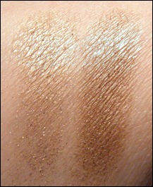 Nars Kalahari Eyeshadow Duo Swatch