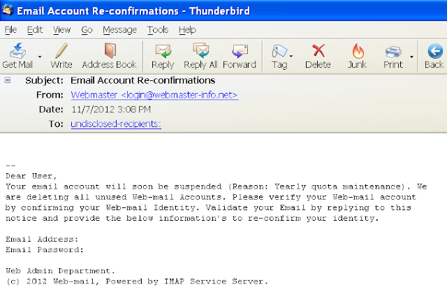 Pencuri Password Email