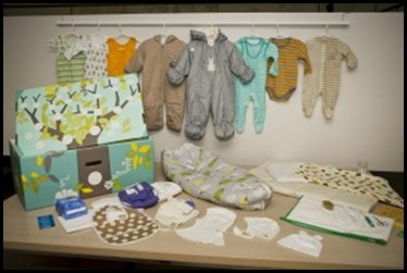 Colette e culotte perch i bambini finlandesi dormono in una scatola di cartone - Metodi per far dormire i bambini nel loro letto ...