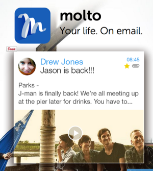 Molto iOS email app