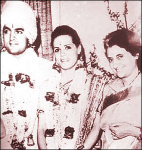 Rare Photos of Indira Gandhi with Family