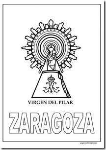 VIRGEN DE PILAR JUGARYCOLOREAR 1