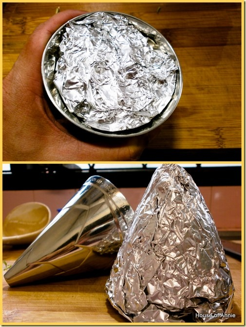 Making foil cones