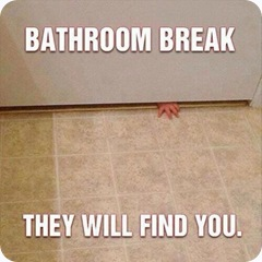 bathroombreak