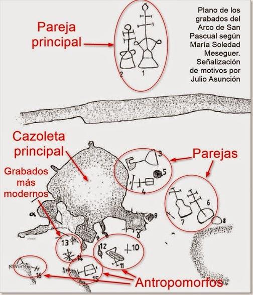 PLANO GRABADOS DEL ARCO DE SAN PASCUAL