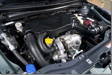 2012 Suzuki Swift Sport Concept engine