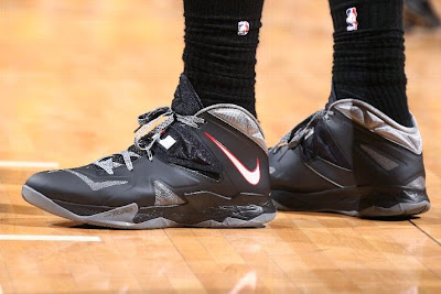 lebron james nba 140520 mia at ind 25 game 2 King James Wears New LeBron 11 Elite PE For a Little Bit