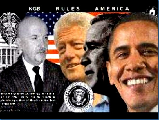 Kryzhanovsky, Clinton, Bush, Obama