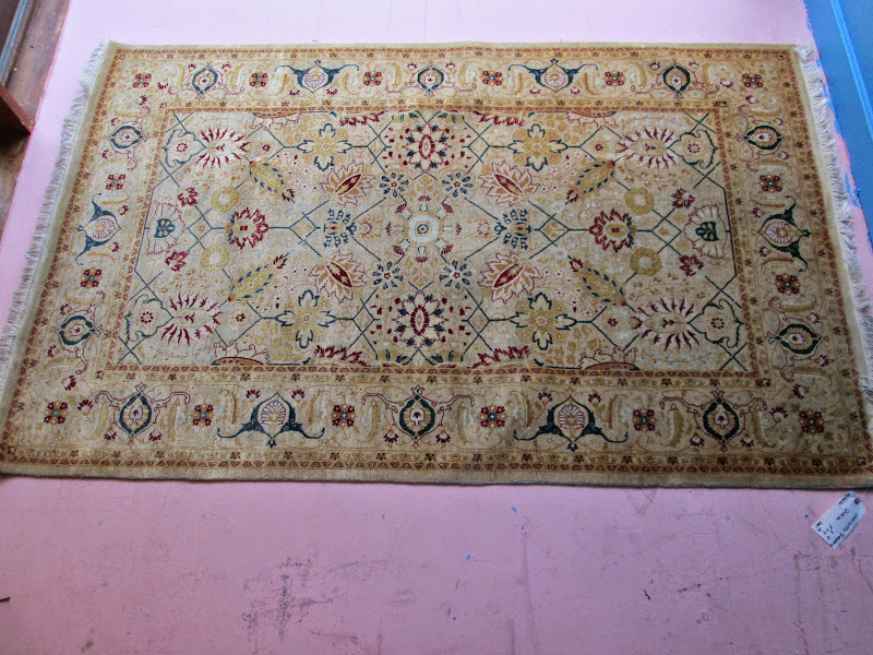 Yellow Persian Rug