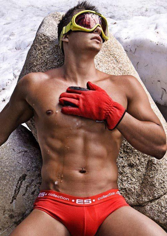 Red Hot Guy in the Cold