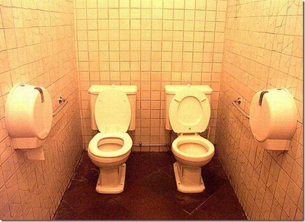 Para quem não consegue se separar nem para ir ao banheiro