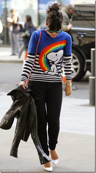 Fay Snoopy Crew-neck Sweater X Lily Allen - 04