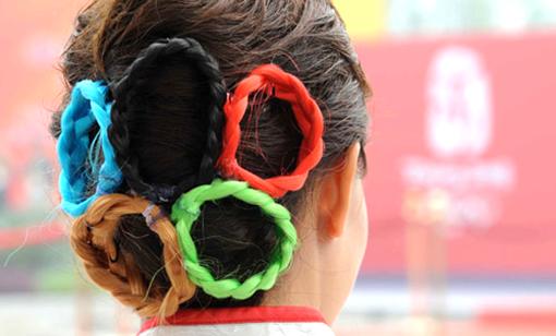 Олимпийская прическа