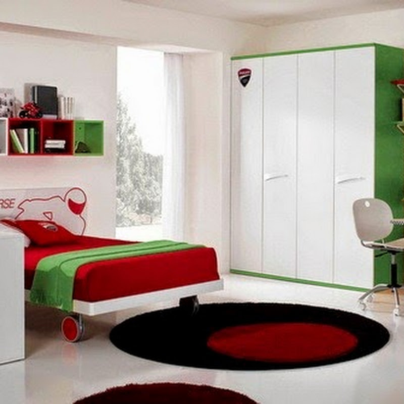 membuat kamar tidur anak menjadi tempat bermain gambar