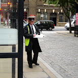 officer in downtown london in London, London City of, United Kingdom