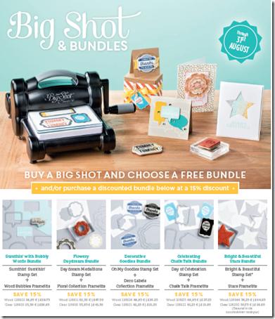 Big Shot Promotion Flyer Aug 2104