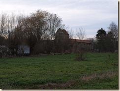 Halmaal, Maasrode: voormalige discotheek 'Riddershof' gezien vanaf de Halmaalweg