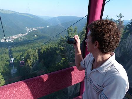Vacante Romania: Earl in telegondola