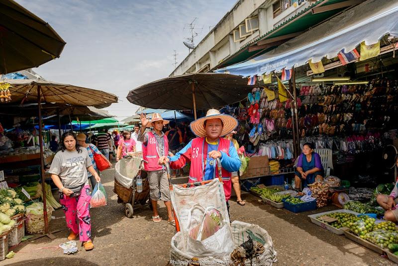 Bangkok, Klong Toey Market