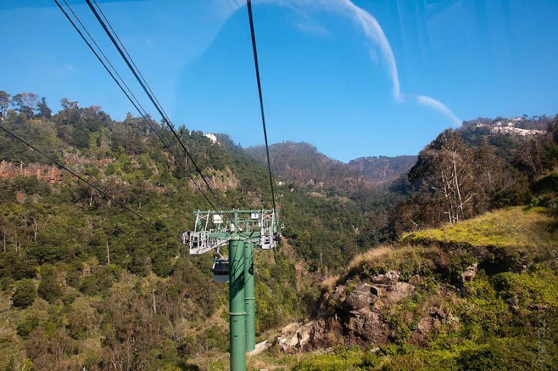 9. Природа большого каньона во всей красе. Канатная дорога. Фуншал. Мадейра. Португалия. Круиз на Costa ConCordia.