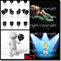 ACT- 4 Pics 1 Word Answers 3 Letters