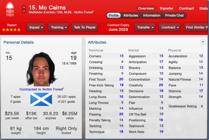 Mo Cairns