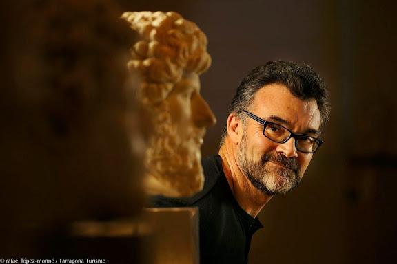 Jesús Montlleó, director de cinema tarragoní. MNAT, Museu Nacional Arqueològic de Tarragona.Tarragona, Tarragonès, Tarragona