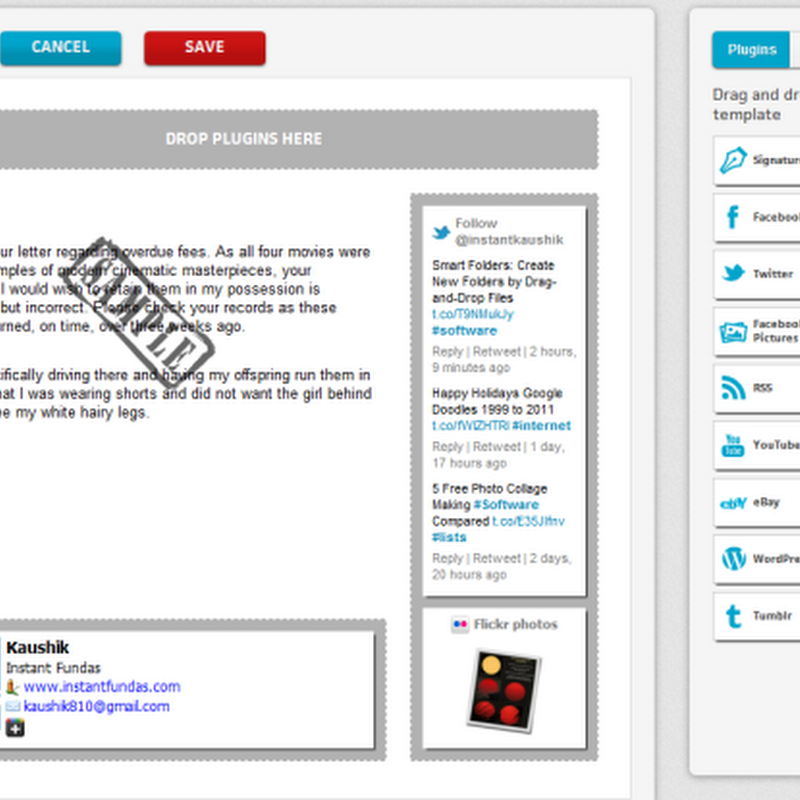 BrandMyMail Adds Social Media Snippets to Your Emails