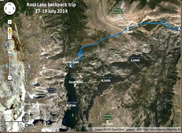 Ross Lake area satellite