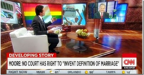 Chris Cuomo vs. AL Chief Justice Roy Moore
