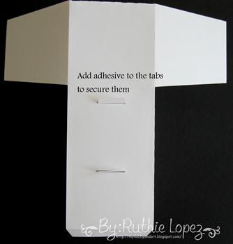 cake box surprise box - Lid SDS - Ruthie Lopez DT 10