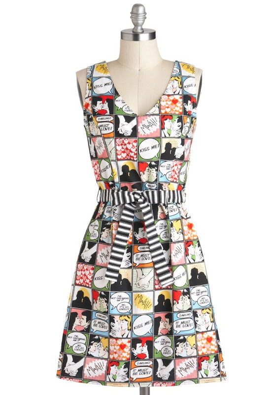 Draw Them In Dress from ModCloth