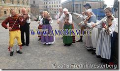 20130915_155447 (1)  Kung Carl XVI Gustaf 40 årsjubileum. Lejonbacken spelmän. Med amorism