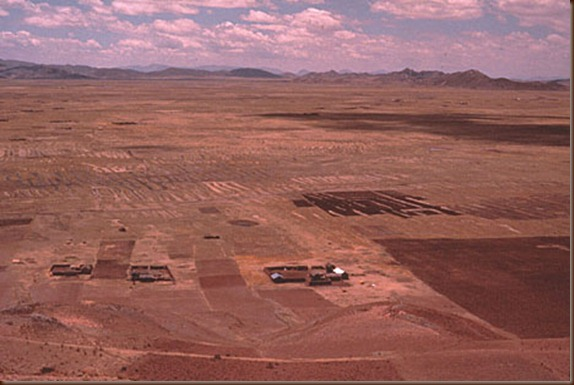 Tiwanaku in dry season