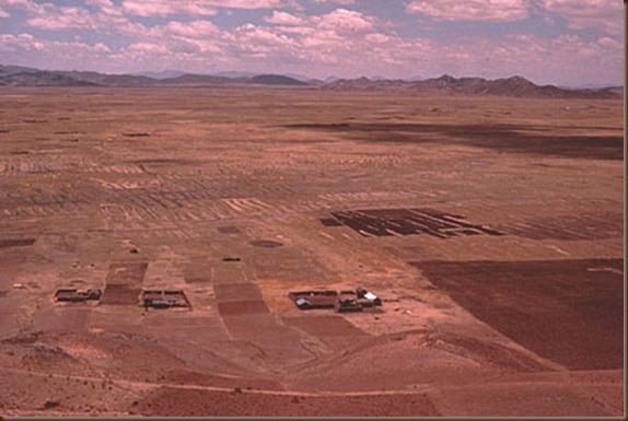 Tiwanaku in dry season