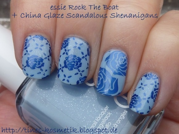 essie Rock The Boat Stamping 4