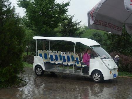 Mini car prin Xian