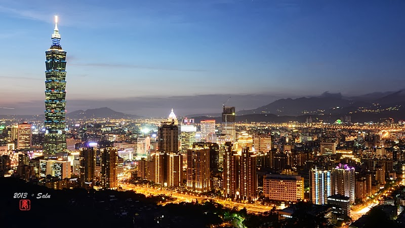 台北 象山 夜景 101