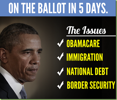 obama policies on ballot