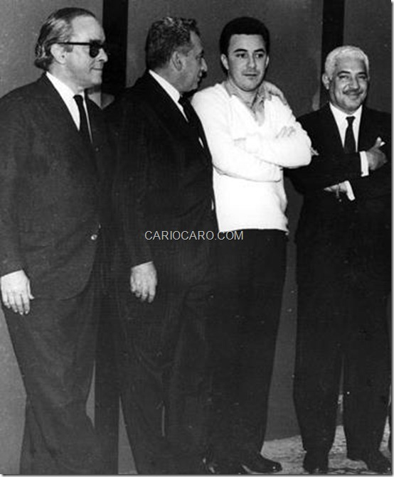 Vinicius, Jorge Amado, João Gilberto e Dorival Caymmi