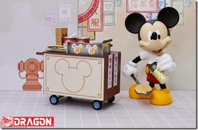 Mickey selling Hong Kong Waffle 02